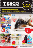 Gazetka promocyjna Tesco Hipermarket - Black Friday w Tesco