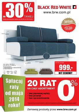 Gazetka promocyjna Black Red White - do 30% taniej!
