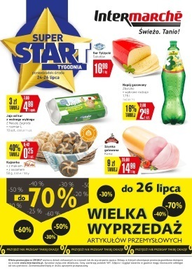 Gazetka promocyjna Intermarche Super - Super start
