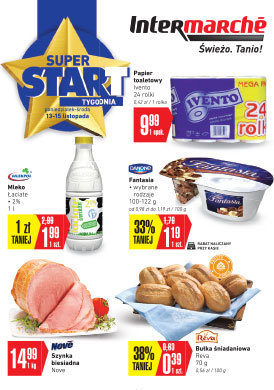 Gazetka promocyjna Intermarche Super - Super start!