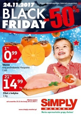 Gazetka promocyjna Simply Market - Black Friday -50%