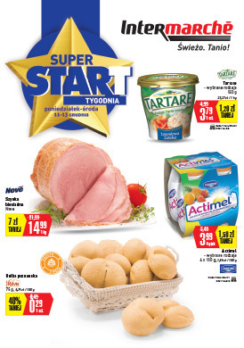 Gazetka promocyjna Intermarche Contact - Super start!