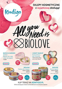 Gazetka promocyjna Kontigo - All you need is BIOLOVE - ważna do 14-02-2018