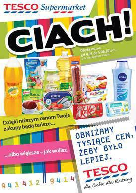 Gazetka promocyjna Tesco Supermarket - Tesco Supermarket